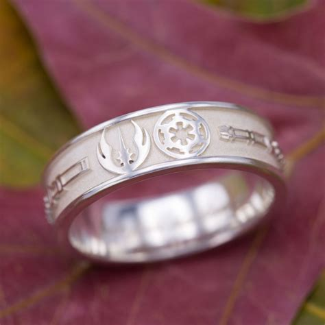 geeky engagement rings nerdy wedding bands custommadecom