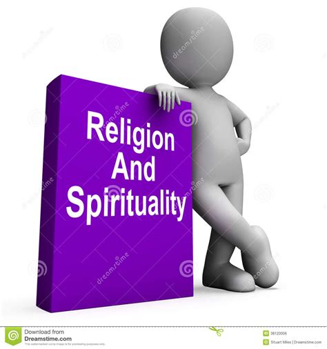 Religion And Spirituality Book With Character Shows