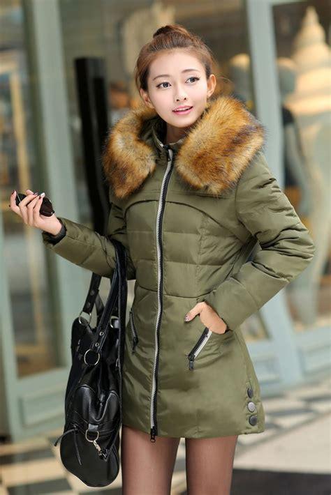 jaket musim dingin korea green coat jyq063green baju winter coat korea