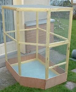 Fabrication D Une Voliere Exterieur : fabrication voli re fait maison page 1 ~ Premium-room.com Idées de Décoration