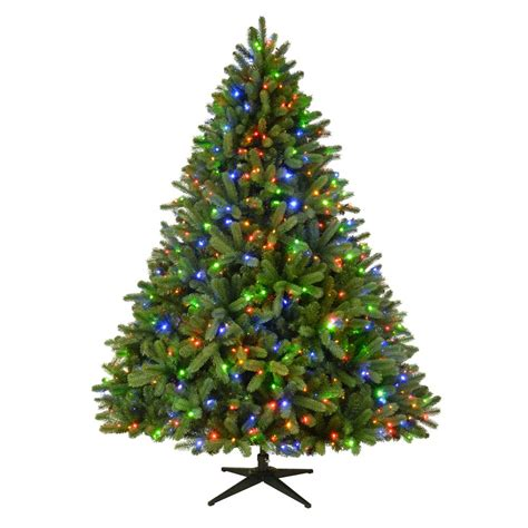 home accents holiday 75 frasier fir home accents 7 5 ft pre lit led grand fir artificial tree with 750 color