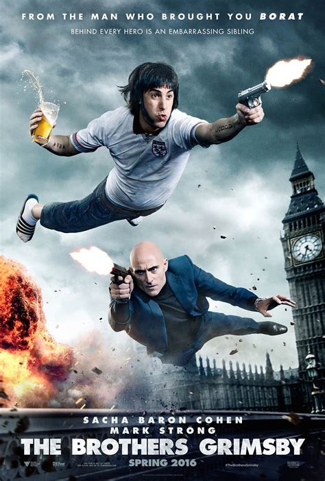brothers grimsby  poster  trailer addict