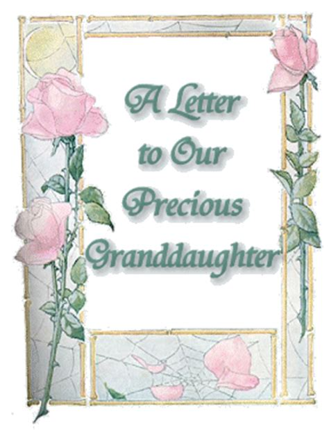letter to my granddaughter letter from my granddaughter writing letters to my grandchildren a letter to our precious granddaughter 26197
