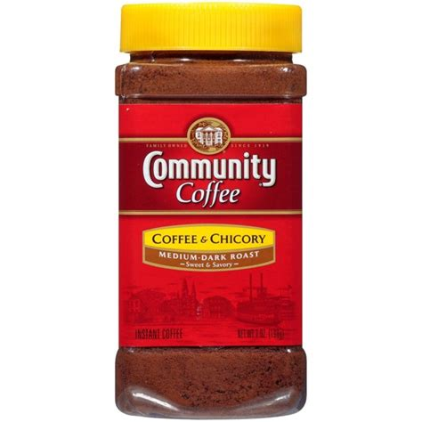 Check out these instant coffee brands yourself. Community Coffee Medium Dark Roast Instant Coffee - 7oz From Target in Austin, TX - Burpy.com