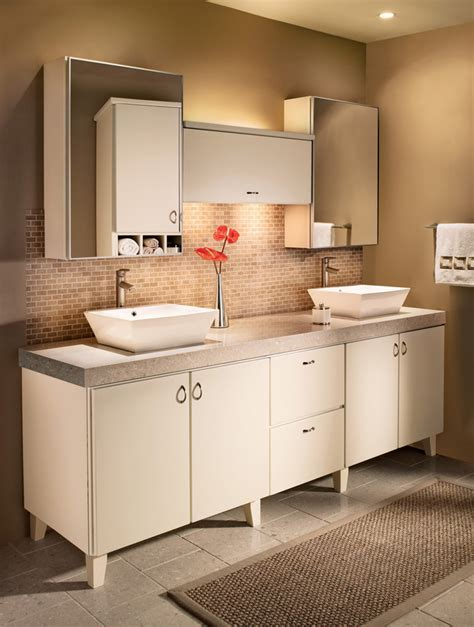 make bathroom vanity from kitchen cabinets bathroom vanities kraftmaid bathroom cabinets 9722