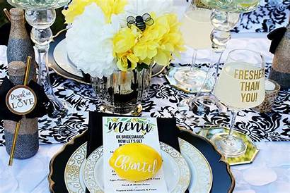 Bridal Shower Themed Lemon Pink Bride Lemonade