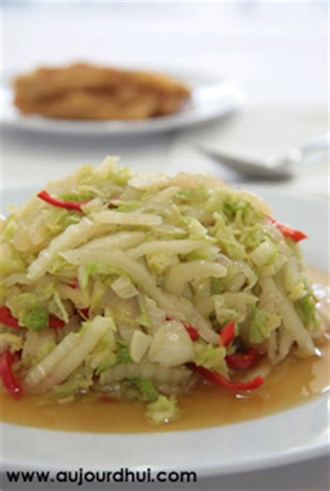 cuisiner le chou chinois marmiton chou chinois sauté chou chinois oignon huile recette