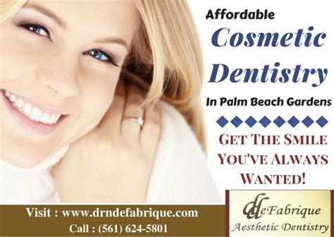 affordable cosmetic dentist  palm beach gardens fl