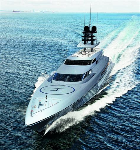 New 77m superyacht SILVER FAST launched by SILVERYACHTS ...