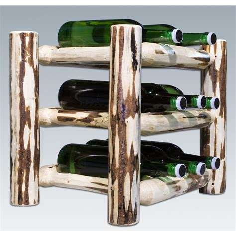 countertop wine rack montana woodworks 174 countertop wine rack lacquered