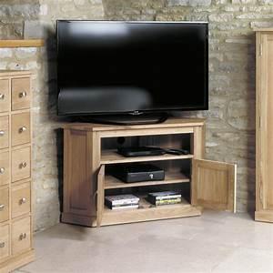 Mobel Oak Corner Television Cabinet Was 41000 Now 349
