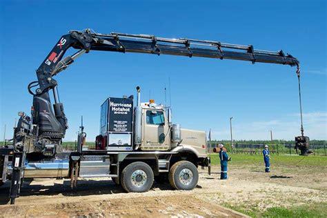 hiab xs  picker truck calgary edmonton grande prarie ab