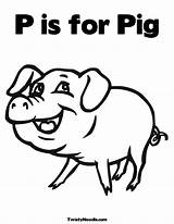 Pig Coloring Colouring Pages Mummy Popular Coloringhome sketch template