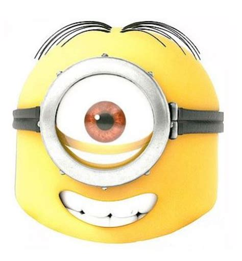 Minion Mask Template by The Gallery For Gt Evil Minion Goggles Printable