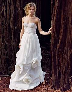 fantastic wedding dresses designs with a colorful model With nature inspired wedding dresses