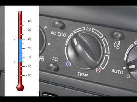 air conditioning with automatic temperature