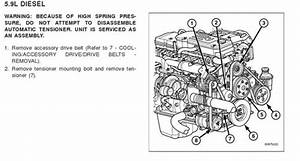Cummins 6 7 Diesel Serpentine Diagram