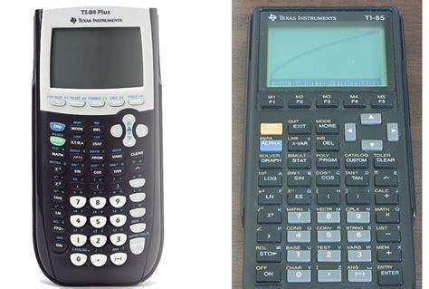 TI 85 Vs TI 84 - Which one to pick?