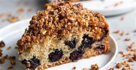 Mix just until combined (don't overmix, because this will affect how the cake rises). blueberry walnut cake - recipes - Tasty Query