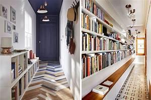 Meuble Couloir étroit : conseils d co pour le couloir d une entr e blog d co mim ~ Teatrodelosmanantiales.com Idées de Décoration