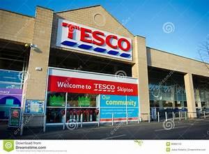 Tesco Store in Skipton, UK editorial stock photo. Image of ...