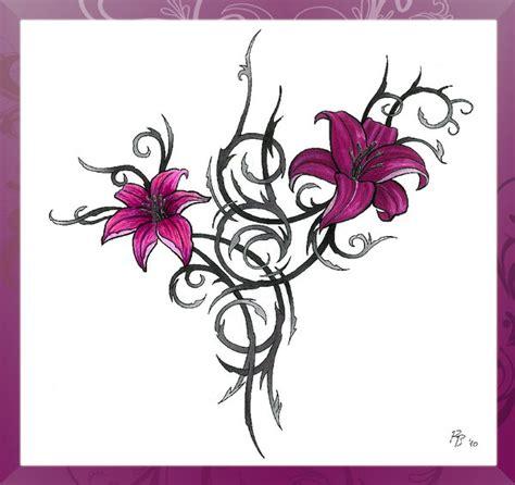 Tribal Flower Tattoo By C4ym4n On Deviantart