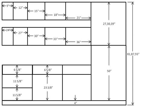 kitchen cabinet base dimensions standard sizes for kitchen cabinets cabinet 5156