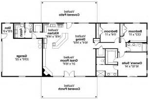ranch house plans open floor plan ranch house plans ottawa 30 601 associated designs