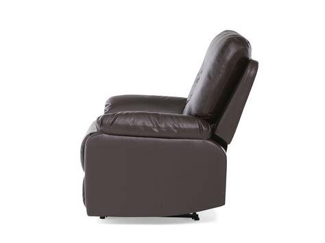entretenir canapé en cuir fauteuil en simili cuir marron avec position réglable