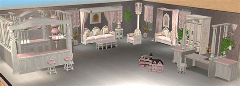 Mod The Sims  Continuation Of The Marblepink Setliving Room