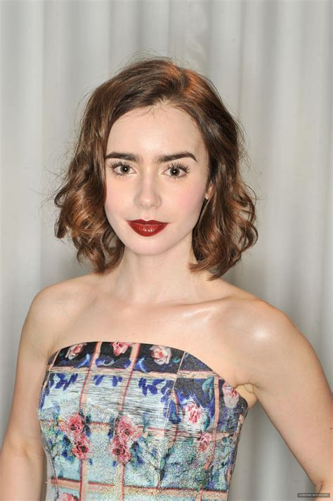 Lily Collins at The Lancôme Pre-Bafta Party in London ...
