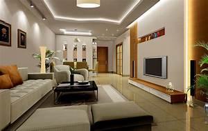 Interior design 3d living room