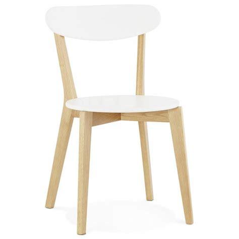 chaise bois scandinave chaise design style scandinave scandi en bois blanc