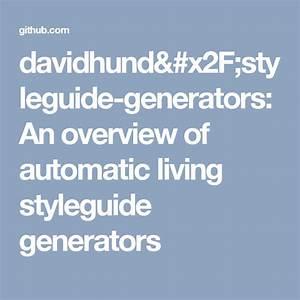 Davidhund  Styleguide