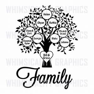 drawing a family tree template With drawing a family tree template