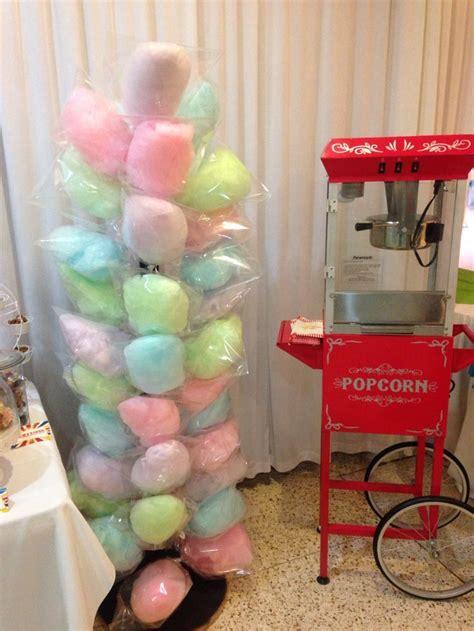 carnaval party decor popcornmaschine und zuckerwatte