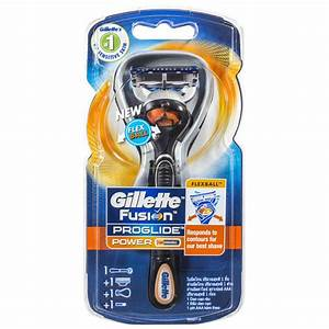 Gillette Fusion Proglide Power Men U0026 39 S Razor With Flexball