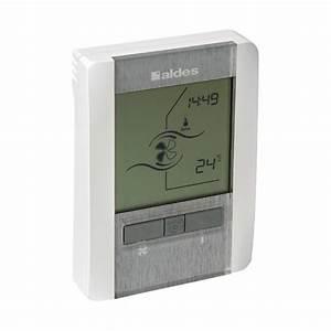 Double Flux Aldes : t l commande 4 vitesses filaire accessoire vmc double ~ Edinachiropracticcenter.com Idées de Décoration