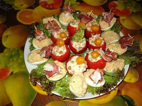 ancienne recette de cuisine entrée froide et rapide tomates farcies macédoine et