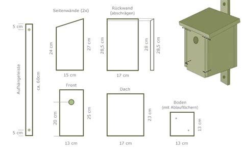 Vogelhaus Einfach Selber Bauen by Vogelhaus Bauanleitung Zum Selber Bauen S8airsoftgames