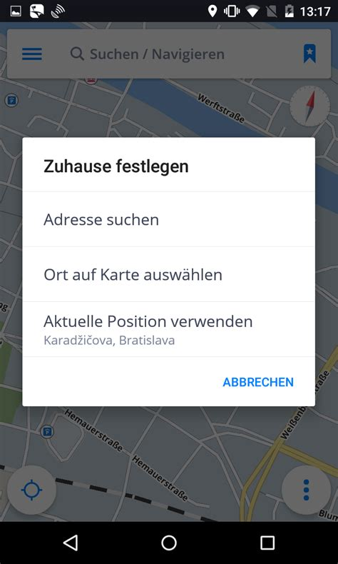 Nach Hausebüro Navigieren  Sygic Gps Navigation For