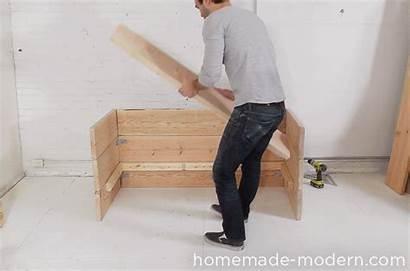 Sofa Modern Homemade Box Step Ep66 Diy