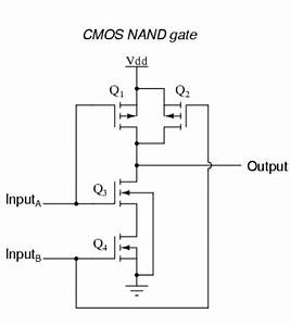 How To Draw Nand And Nor Gates Using Cmos Logic