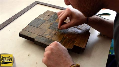 costruire  orologio  vecchi pezzi  legno