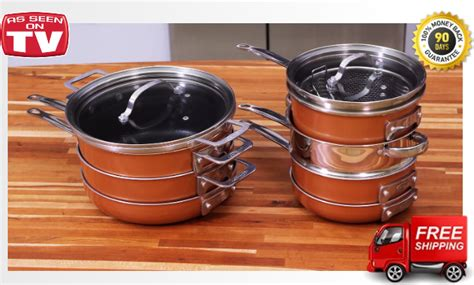 gotham steel stackmaster review copper cookware reviews
