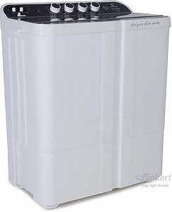 Videocon 7 5 Kg Semi Automatic Top Load Washing Machine