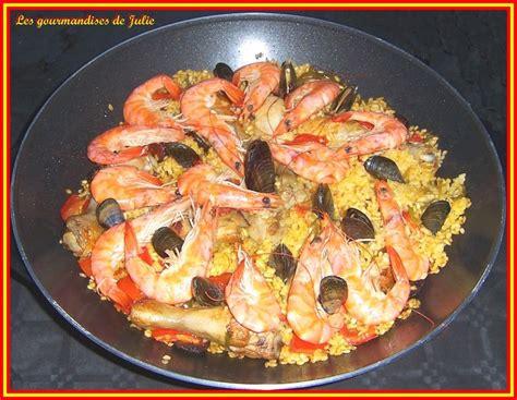 recette cuisine au wok cuisine espagnole paella au wok ideoz voyages