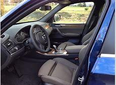 My New Deep Sea Blue X3 xDrive35i