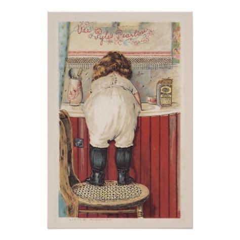 vintage bathroom wall art zazzle
