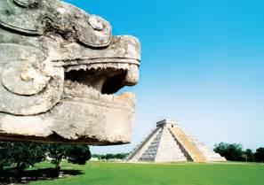 Mayan Ruins Near Cancun Mexico